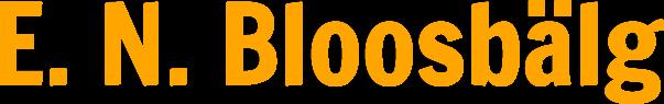 E. N. Bloosbälg